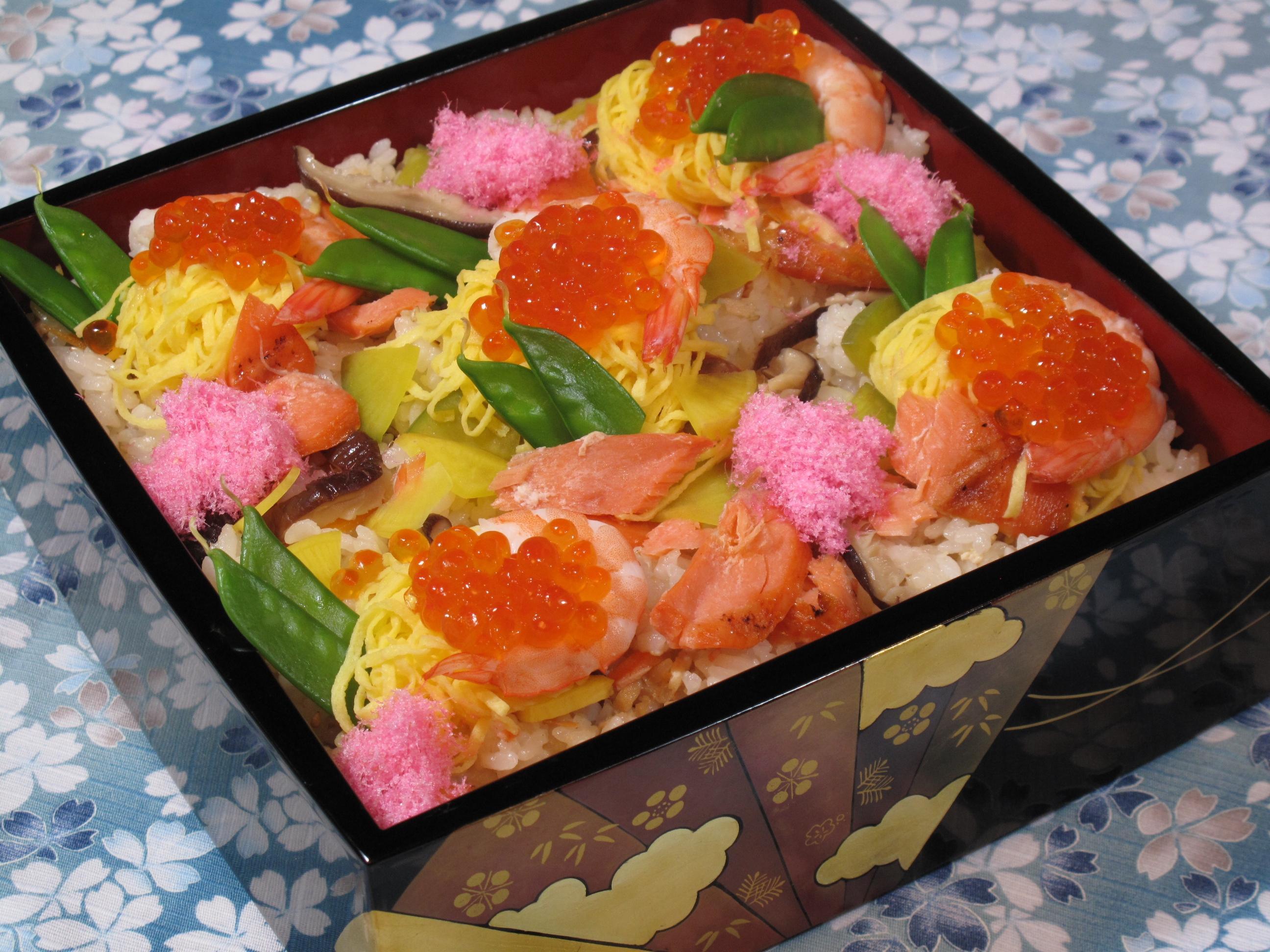鮭といくらの親子ちらし寿司